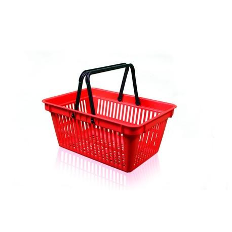 Košík nákupní 2 držadlo bez plochy na potisk