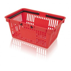 Košík nákupní 2 držadlo s plochou na potisk