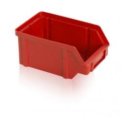Zkosená bedna PP 1 kg - červená