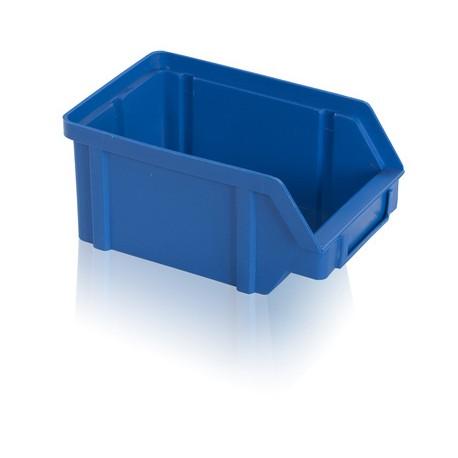Zkosená bedna PP 1 kg - modrá