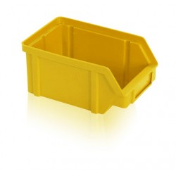 Zkosená bedna PP 1 kg - žlutá