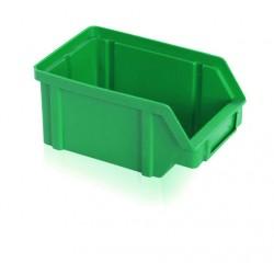 Zkosená bedna PP 1 kg - zelená