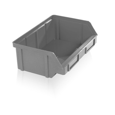 Zkosená bedna PP 3 kg - šedá