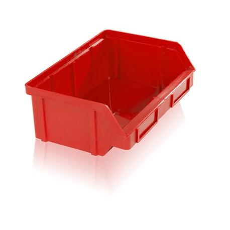 Zkosená bedna PP 3 kg - červená