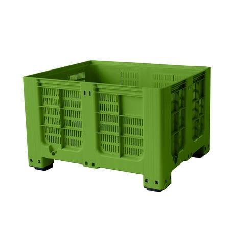 bigbox děrovaný 120x100x78,5 cm – 4 nohy