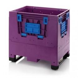bigbox skládací 80x60x79 cm - vkladové okno - 2 ližiny