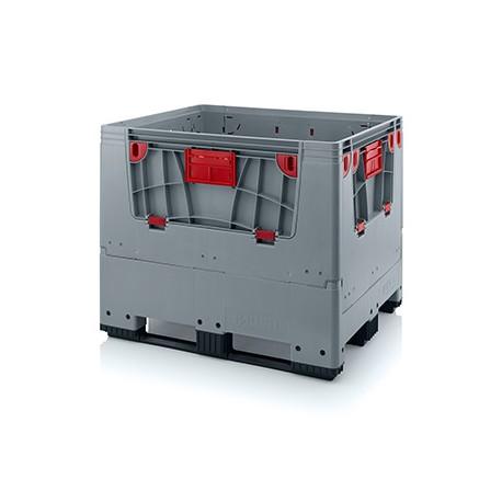bigbox skládací 120x100x100 cm - vkladové okno - 3 ližiny
