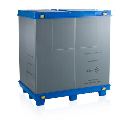 bigbox skládací s víkem 120x100x100 cm