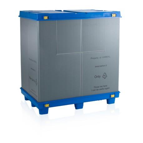 bigbox skládací s víkem 120x80x100 cm