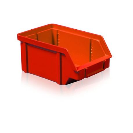 Zkosená bedna PP 5 kg - červená