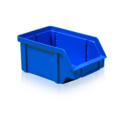 Zkosená bedna PP 5 kg - modrá