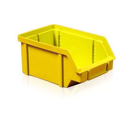 Zkosená bedna PP 5 kg - žlutá