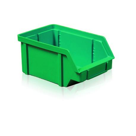 Zkosená bedna PP 5 kg - zelená