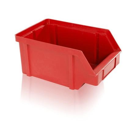 Zkosená bedna PP 10 kg - červená