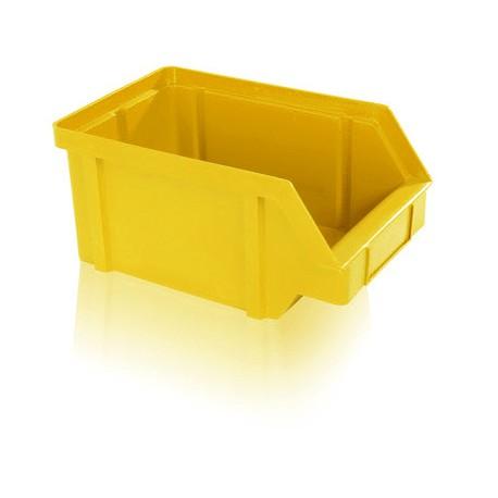 Zkosená bedna PP 10 kg - žlutá