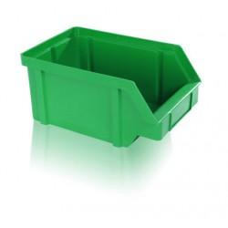 Zkosená bedna PP 10 kg - zelená