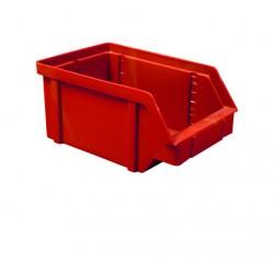 Zkosená bedna PP 20 kg - červená