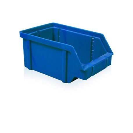 Zkosená bedna PP 20 kg - modrá