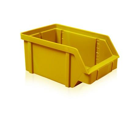 Zkosená bedna PP 20 kg - žlutá