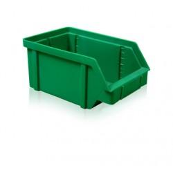 Zkosená bedna PP 20 kg - zelená