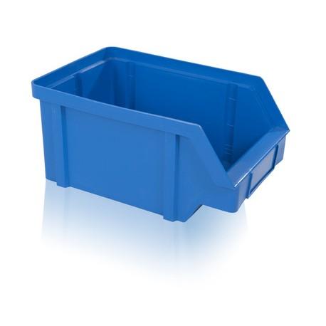 Zkosená bedna PP 40 kg - modrá