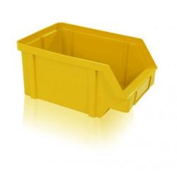 Zkosená bedna PP 40 kg - žlutá