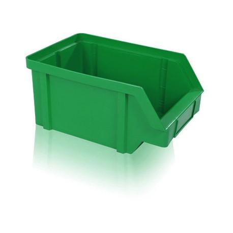 Zkosená bedna PP 40 kg - zelená