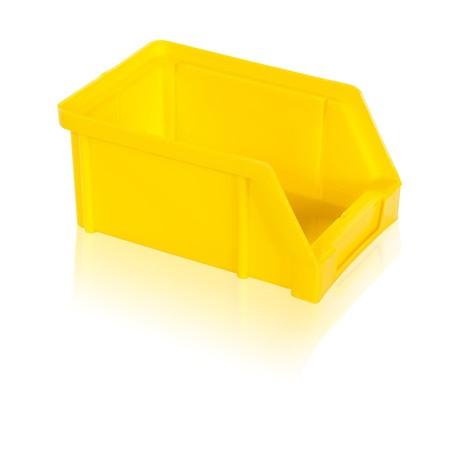 Bedna zkosená PS 2 kg - žlutá