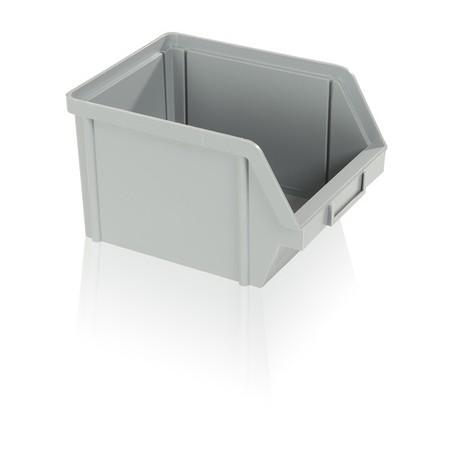 Bedna zkosená PS 10 kg - šedá