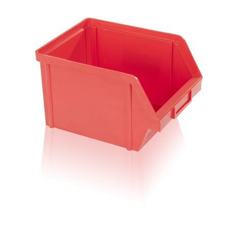 Bedna zkosená PS 10 kg - červená