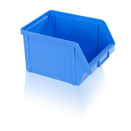 Bedna zkosená PS 10 kg - modrá