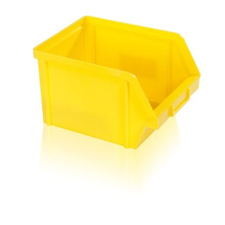 Bedna zkosená PS 10 kg - žlutá
