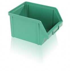 Bedna zkosená PS 10 kg - zelená