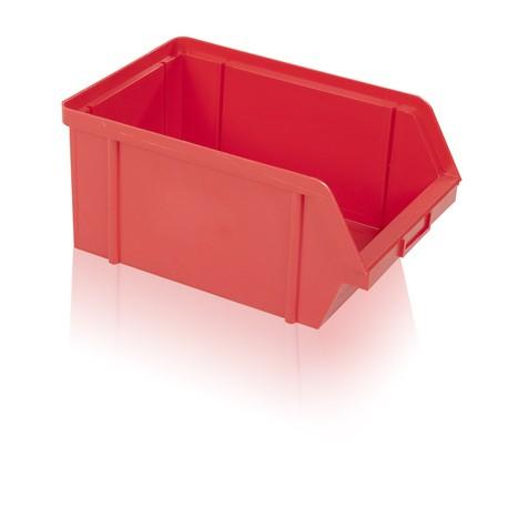 Bedna zkosená PS 20 kg - červená