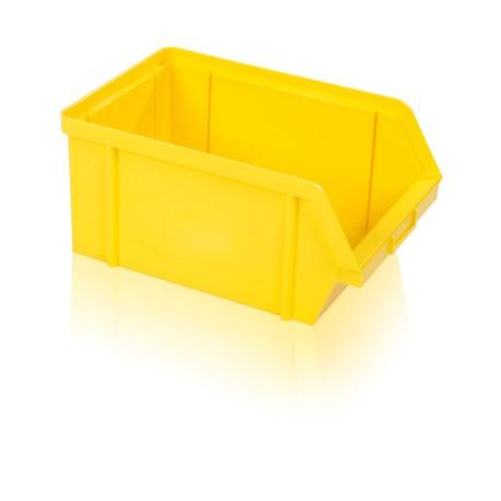 Bedna zkosená PS 20 kg - žlutá