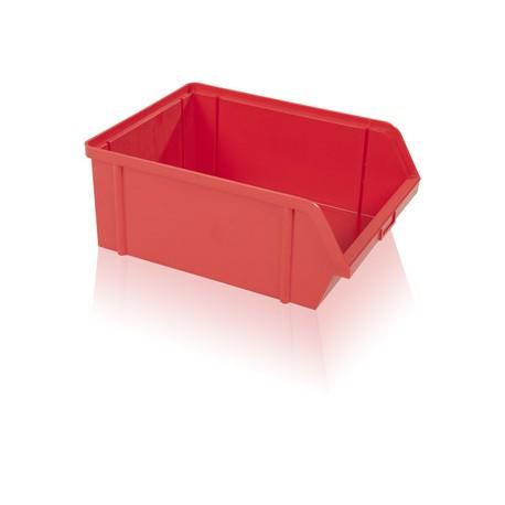 Bedna zkosená PS 40 kg - červená