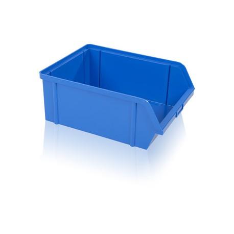 Bedna zkosená PS 40 kg - modrá