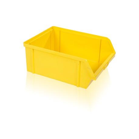 Bedna zkosená PS 40 kg - žlutá