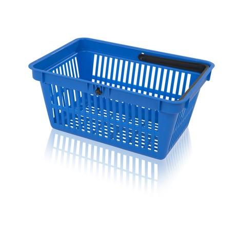Košík nákupní 1 držadlo bez plochy na potisk