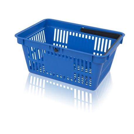 Košík nákupní 1 držadlo s plochou na potisk
